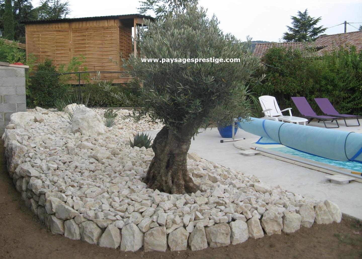 Paysagiste dr me ard che paysages prestige creations for Ambiance jardin paysagiste